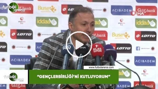 """'Ahmet Taşyürek: """"Gençlerbirliği'ni kutluyorum"""""""
