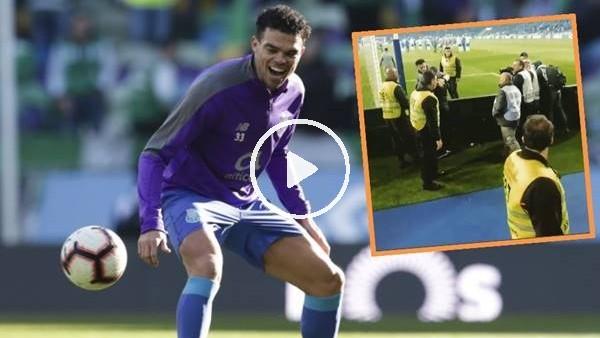 Porto tribün lideri Beşiktaş formasıyla Pepe'yi selamladı