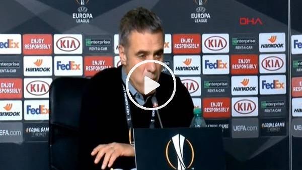'Ersun Yanal, Zenit maçı sonrası açıklamalar yaptı