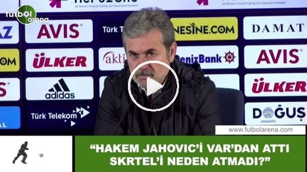 """'Aykut Kocaman: """"Hakem Jahovic'i VAR'dan attı Skrtel'i neden atmadı?"""""""