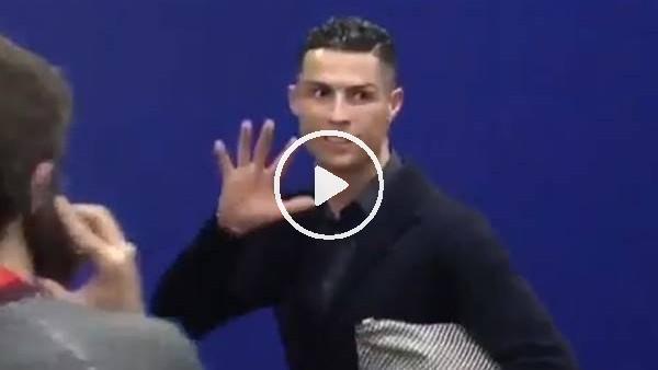 'Cristiano Ronaldo'dan Atletico Madrid taraftarlarına gönderme