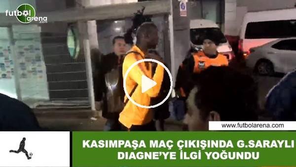 'Galatasaray taraftarından Diagne'ye yoğun ilgi