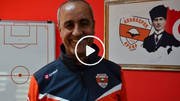 """'Adanaspor'un """"nöbetçi"""" teknik direktörü Eyüp Arın"""