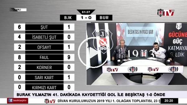 'Burak Yılmaz'ın 2. golünde BJK TV spikerleri