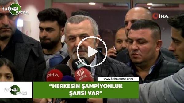 """'Ahmet Ürkmezgil: """"Herkesin şampiyonluk şansı var"""""""