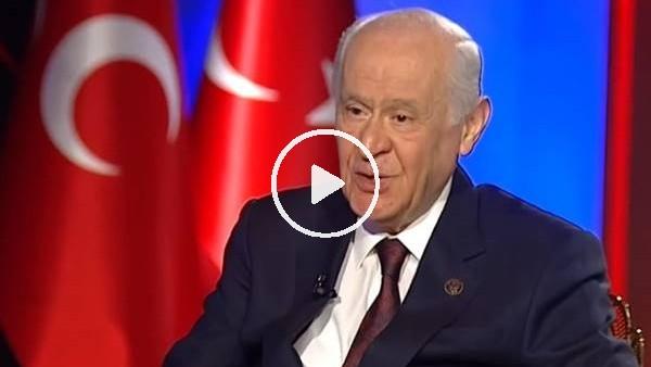 """'Devlet Bahçeli: """"Beşiktaş'ın şampiyon olmasını arzuluyorum"""""""
