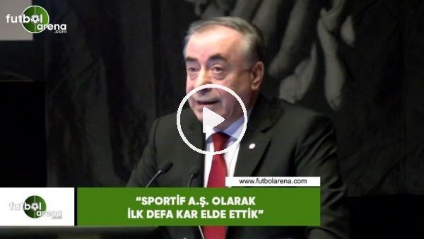 """'Mustafa Cengiz: """"Spotif A.Ş. olarak ilk defa kar elde ettik"""""""