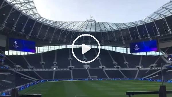 Tottenham'ın yeni stadında Şampiyonlar Ligi müziği