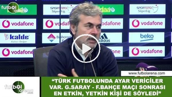"""'Aykut Kocaman: """"Türk futboluna ayar vericiler var"""""""