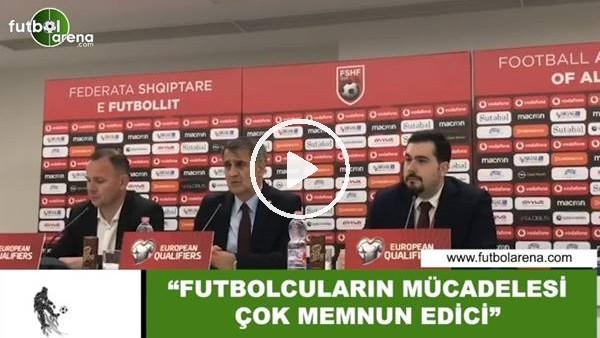 """'Şenol Güneş: """"Futbolcuların mücadelesi çok memnun edici"""""""