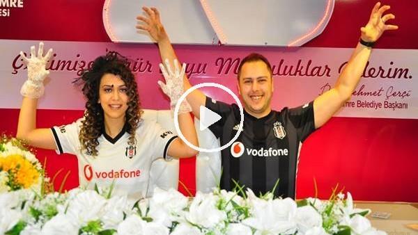 'Nikah tarihleri için Beşiktaş yıl dönümünü seçtiler