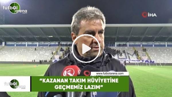 """'Hamza Hamzaoğlu: """"Kazanan takım hüviyetine geçmemiz lazım"""""""