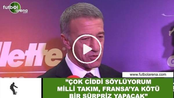 """Ahmet Ağaoğlu: """"Çok ciddi söylüyorum Milli Takım, Fransa'ya kötü bir sürpriz yapacak"""""""