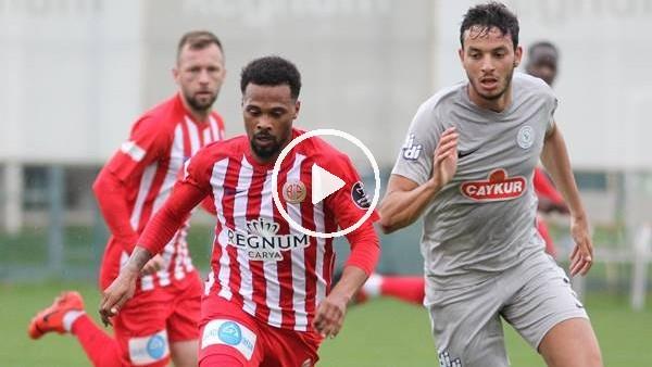 Antalyaspor hazırlık maçında Çaykur Rizespor'u 3-1 yendi