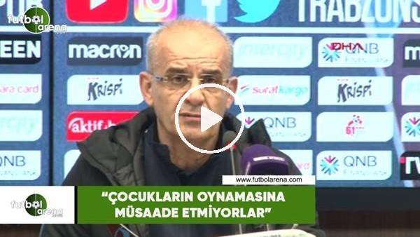 """'Ercan Kayhaoğlu: """"Çocukların oynamasına müsaade etmiyorlar"""""""