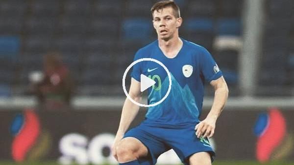 'Miha Zajc'ın milli formayla attığı gol