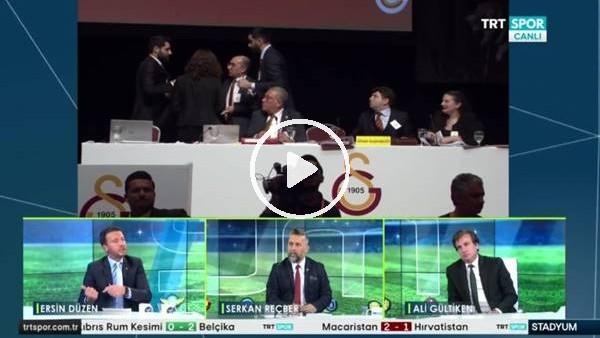 """'Ersin Düzen'den Galatasaray Divab Başkanına: """"Neden kapalı oylama  yapmadınız?"""""""