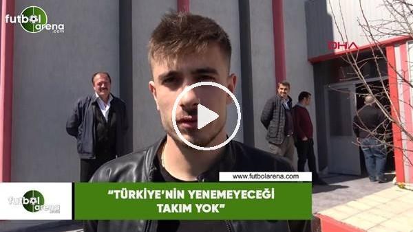 """Dorukhan Toköz: """"Türkiye'nin yenemeyeceği takım yok"""""""