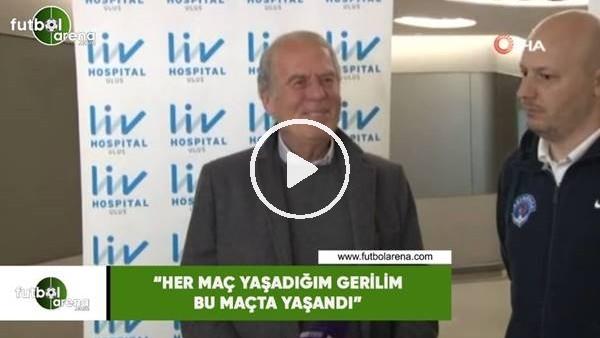 """'Mustafa Denizli: """"Her maç yaşadığım gerilim bu maçta yaşandı"""""""