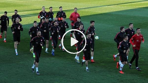 'A Milli Futbol Takımı hazırlıklarını sürdürdü