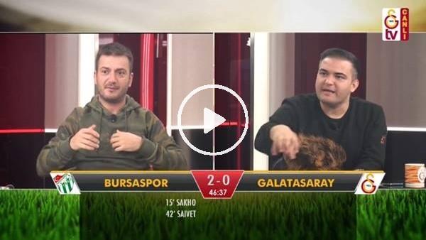 Ndiaye'nin golünde GS TV spikerleri
