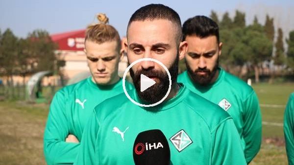 'Sakaryasporlu futbolculardan Amedspor maçıyla ilgili açıklama
