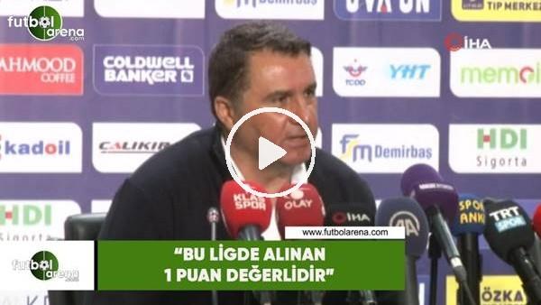 """'Mustafa Kaplan: """"Bu ligde alınan 1 puan değerlidir"""""""