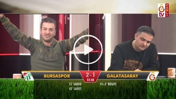 Diagne'nin penaltı golünde GS TV spikerleri