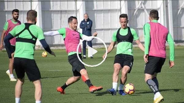 'Konyaspor'da Başakşehir maçı hazırlıkları