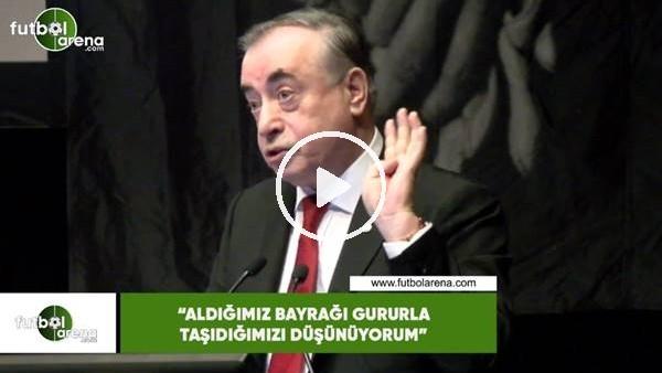 """'Mustafa Cengiz: """"Aldığımız bayrağı gururla taşıdığımızı düşünüyorum"""""""