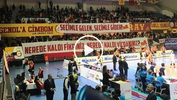 'Galatasaray taraftarından Mustafa Cengiz'e destek