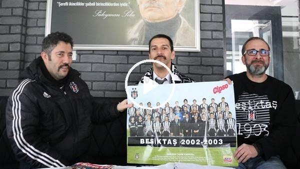 'Beşiktaş aşkını defterlere not ediyor