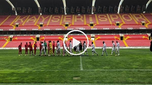 'Kayserispor ile Adana Demirspor hazırlık maçı yaptı