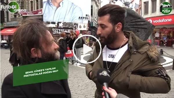 'Sokakta Futbol Gündemi programında Şenol Güneş ve Fatih Terim tartışması