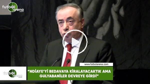 """'Mustafa Cengiz: """"Ndiaye'yi bedavaya kiralayacaktık ama gulyabaniler devreye girdi"""""""