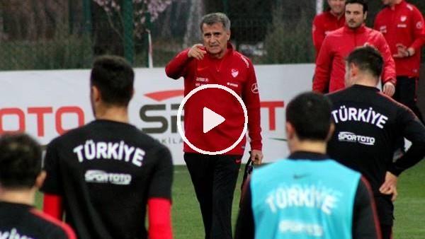 'FutbolArena, Milli Takım antrenmanında
