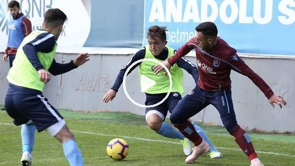 Trabzonspor hazırlık maçında kazandı
