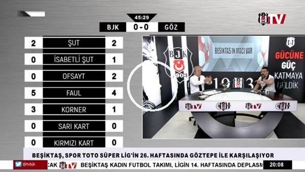 'Burak Yılmaz'ın golünde BJK TV spikerleri