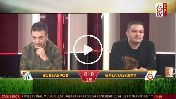 Sakho'nun golünde GS TV spikerleri