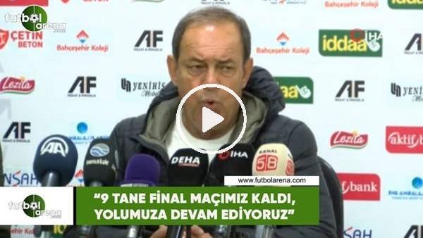 """'Yücel İldiz: """"9 tane final maçımız kaldı, yolumuza devam ediyoruz"""""""