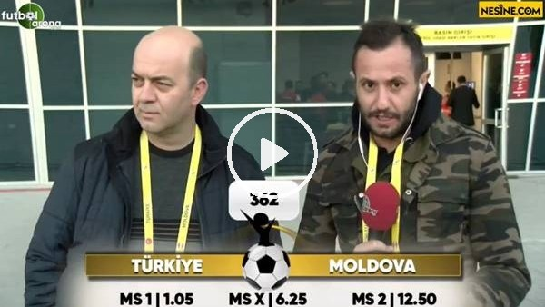 'Türkiye - Moldova maçı Nesine'de!