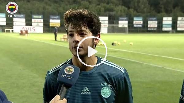 'Fenerbahçeli genç futbolcuların Eskişehirspor maçı sonrası açıklamaları