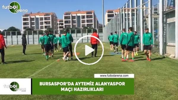 'Bursaspor çalışmalarını sürdürdü