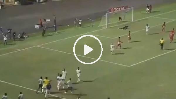 'Trabzonsporlu Ekuban ilk milli maçında gol attı