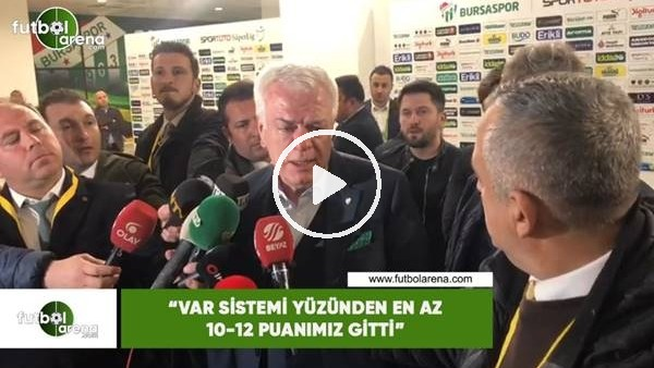"""'Ali Ay: """"VAR sistemi yüzünden az 10-12 puanımız gitti"""""""
