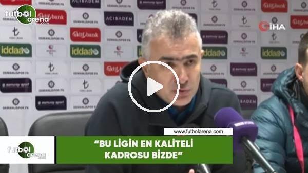 """'Mehmet Altıparmak: """"Bu ligin en kaliteli kadrosu bizde"""""""