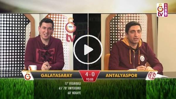 Diagne'nin golünde GS TV spikerleri