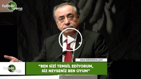 """'Mustafa Cengiz: """"Ben sizi temsil ediyorum, siz neyseniz ben oyum"""""""