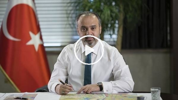"""'Bursa Belediye Başkanı Alinur Aktaş: """"Bursaspor, Trabzonspor sayesinde şampiyon oldu"""""""