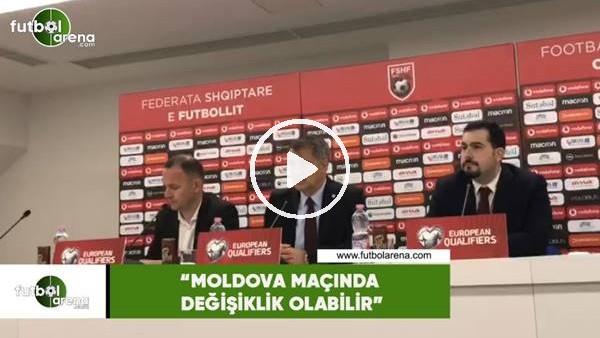 """'Şenol Güneş: """"Moldova maçında değişiklik olabilir"""""""